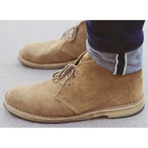 Roots Sz 10 Chukka Boot Suede